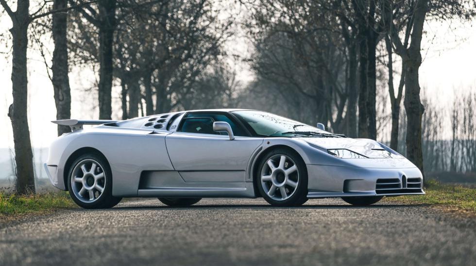 Según información de la compañía, en 2015 el Bugatti EB110 SS pasó por un mantenimiento exhaustivo que lo dejó en óptimo estado. (Fotos: Girardo & Co.).
