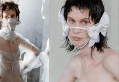 Novias: este diseñador ha configurado extravagantes mascarillas para las bodas post-pandemia