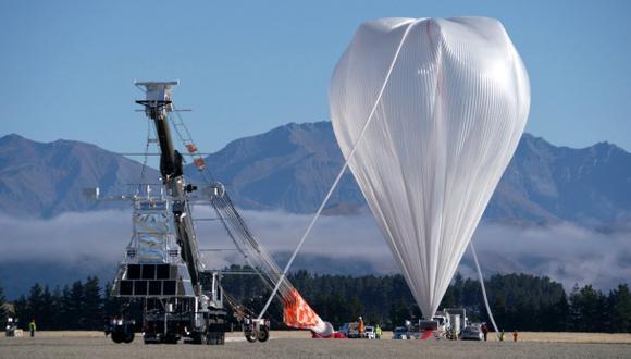 El enorme globo con el que la NASA busca estudiar el espacio