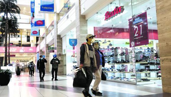 El Mall Aventura en  Santa Anita ya tiene más de 200 establecimientos comerciales operando con normalidad, pero con aforos reducidos. Ante la coyuntura, la firma desarrolló planes flexibles para sus locatarios. (Foto: Jesús Saucedo / GEC)