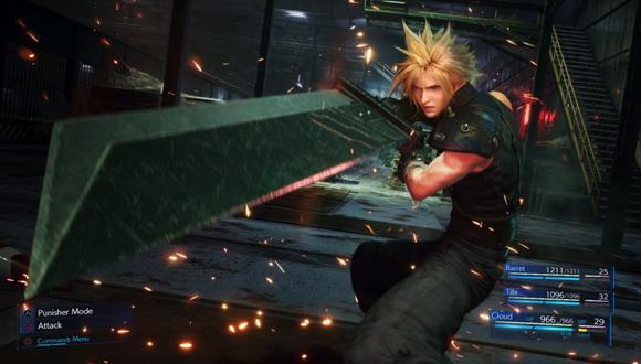 Final Fantasy VII Remake saldrá en PlayStation 4 el 3 de marzo de 2020. (Foto: Square Enix)
