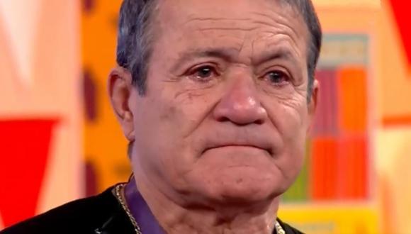 Miguel 'Chato' Barraza se conmovió al recordar al 'Gordo' Casaretto. (Foto: Captura de video)