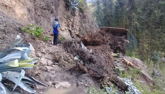 Pueblos de Mitobamba y Lucerito de Sihuas se encuentran afectados por el lodo que ha ingresado a sus inmuebles (Fotos: Municipalidad de Sihuas)