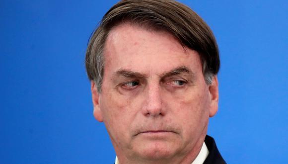 Jair Bolsonaro está siendo cuestionado en Brasil por el manejo que le da a la crisis del coronavirus. (REUTERS/Ueslei Marcelino).