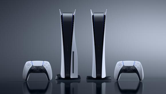 La PlayStation 5 tiene dos versiones: una con lector Blu-ray y otra sin este. (Difusión)