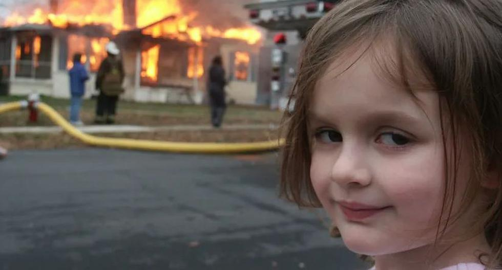 Disaster Girl: 500 thousand dollars for Zoë Roth, the protagonist of the viral of Internet