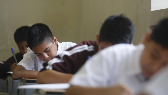 Postergan la Evaluación Censal de Estudiantes 2020 (ECE 2020) y la Evaluación Muestral 2020 (EM 2020) en los colegios públicos y privados del país. (Foto: Diana Chávez/GEC)