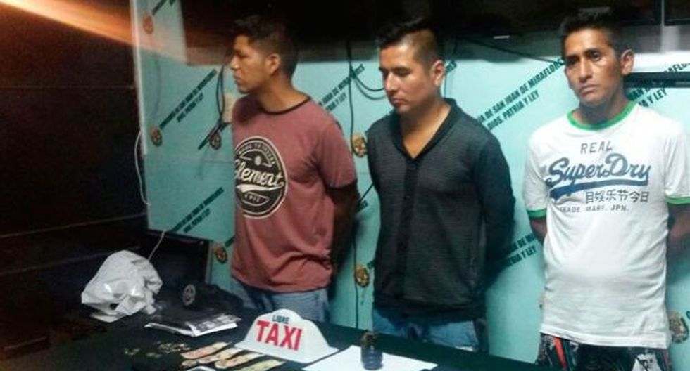 San Juan de Miraflores: cayeron Los Explosivos de Billinghurst