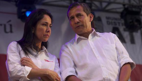 Humala es presidente del Partido Nacionalista y Heredia, secretaria de Relaciones Internacionales de la agrupación. (Foto: Archivo El Comercio)