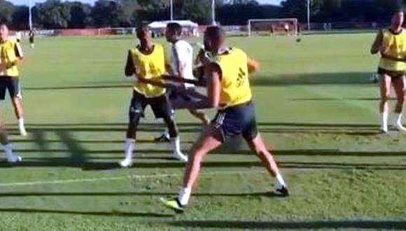 Vinicius y Benzema se han comprendido muy bien sobre el campo de juego. (Foto: Instagram)