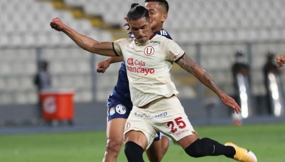 Universitario vs. Sporting Cristal: Dos Santos fue titular en el cuadro crema. (Foto: Liga 1)