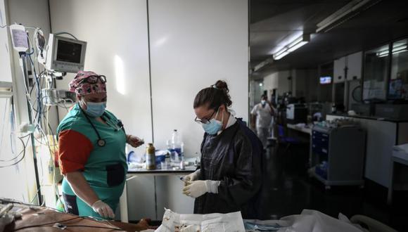 Coronavirus en Argentina   Últimas noticias   Último minuto: reporte de infectados y muertos hoy, lunes 24 de mayo del 2021   Covid-19   (Foto: EFE/Juan Ignacio Roncoroni).