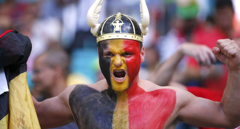 Bélgica vs. USA: 'Fellaini' y otras caras curiosas en Bahía - 8