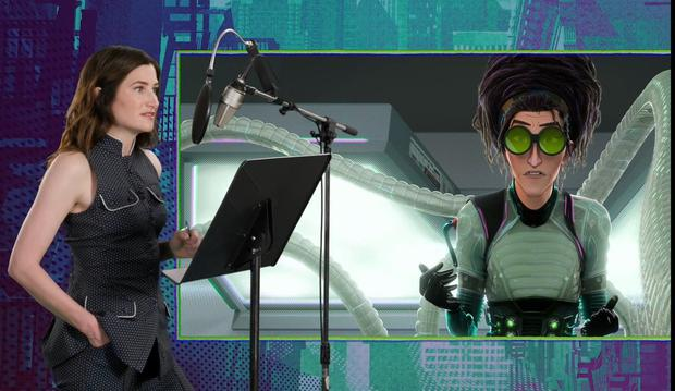 """Kathryn Hahn and """"Spider-Man: Into the Spider-Verse"""" (Photo: Marvel)"""