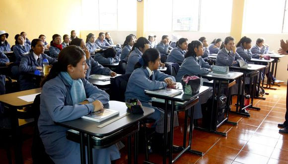 """Pedro Cateriano afirmó que la propuesta sobre un crédito estudiantil ya la había formulado """"desde el llano"""". (Foto: GEC)"""