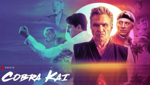 "Al final de la tercera temporada de ""Cobra Kai"", Daniel LaRusso y Johnny Lawrence se unen para enfrentar a John Kreese (Foto: Netflix)"