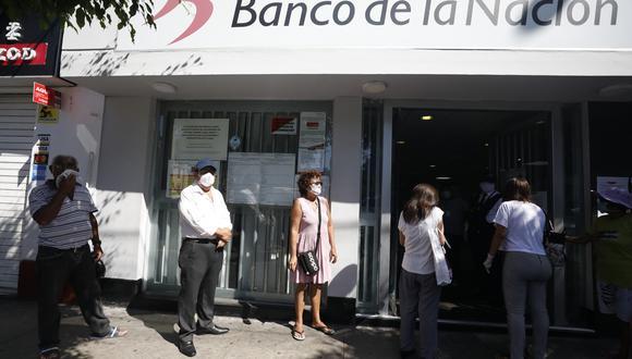 Dado que los nuevos beneficiarios no cuentan con tarjeta, el retiro en ventanilla se realizará con el DNI. (Foto: GEC)