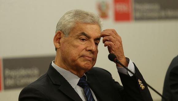 César Villanueva ocupa el cargo desde el 2 de abril de este año. (Foto: El Comercio)