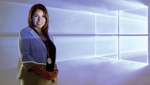 Giovanna Cortez, gerente general de Microsoft Perú, confía en que en dos años toda la gran empresa local ya esté usando Inteligencia Artificial.