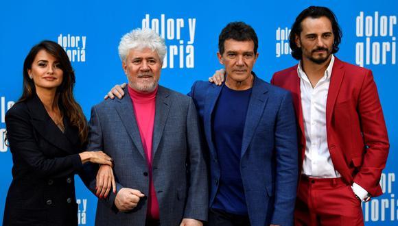 """""""Dolor y Gloria"""", de Pedro Almodóvar, fue seleccionada entre las semifinalistas para los premios Oscar. (Foto: AFP)"""