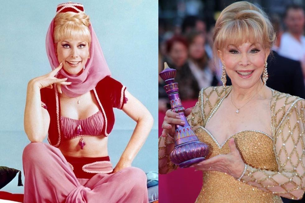 """Hoy, la actriz Barbara Eden cumple 89 años. Ella, fue conocida a nivel mundial por su mágico papel en la serie de los sesentas """"Mi bella genio"""" (""""A dream of Jeannie"""", en inglés). (FOTO: IG/ @mundogeeknatv, @djmarkus1972)"""
