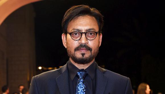 Irrfan Khan falleció a los 53 años en la India. Su desaparición ha sido un duro golpe para el mundo del cine de Bollywood y Hollywood (Foto: AFP)