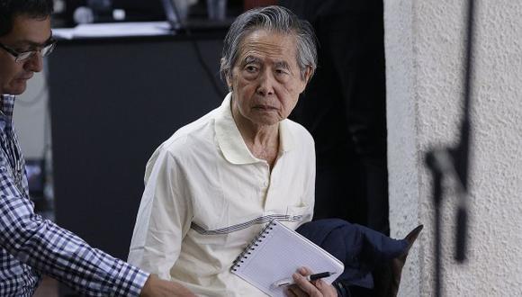 Alberto Fujimori se encuentra en una clínica local tras la anulación del indulto humanitario. (Foto: GEC)