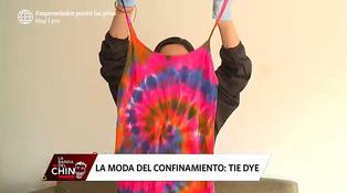 Moda: aprende cómo hacer la técnica del estampado Tie Dye