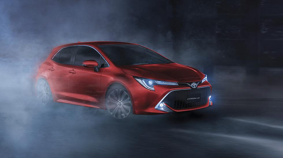 La gran novedad del Toyota Corolla Hatchback es su versión con motorización híbrida de 1.8 litros. (Fotos: Toyota).