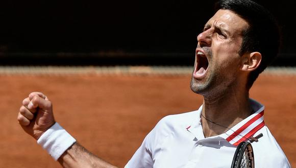 Nole ganó su segundo Roland Garros. (Foto: AFP)