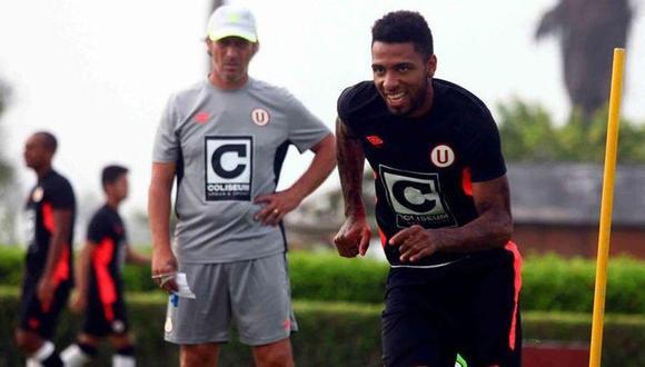 Alexi Gómez podría recaer en la  Superliga argentina para el 2019. Según medios del mencionado país, la 'Hiena' podría llegar a Gimnasia y Esgrima de la Plata dirigida por Pedro  Troglio (Foto: USI)
