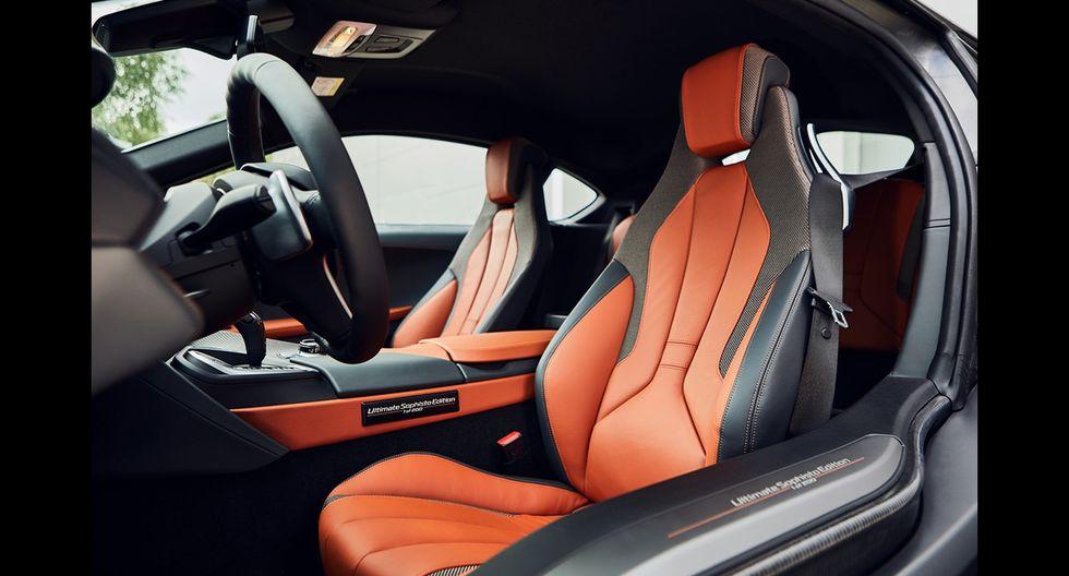 La edición limitada BMW i8 Ultimate Sophisto Edition estará conformada por la versiones Coupé y Roadster del deportivo híbrido. (Fotos: BMW).