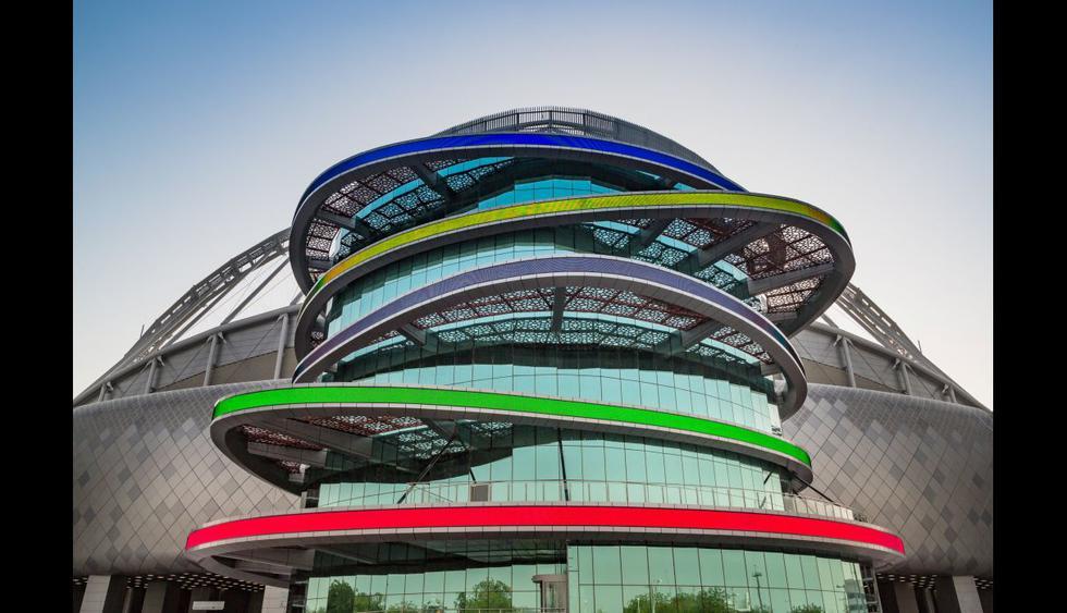 Se trata del primer estadio que ha sido culminado de cara a la Copa Mundial de Fútbol Catar 2022. (Foto: Reuters)