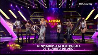 "Gisela Valcárcel  'chotea' a Giselo en "" El artista del año"""