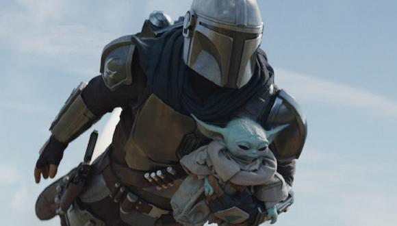 """Mando y Grogu viajaron a Tython para que 'Baby Yoda' encuentre su """"camino"""" (Foto: Disney+)"""