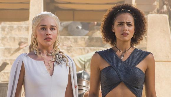 Las actrices son amigas dentro y fuera de la pantalla (Foto: Game of Thrones)