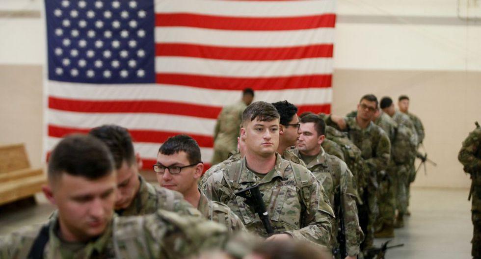 Más soldados estadounidenses fueron sacados de Irak para una evaluación médica. (AFP)