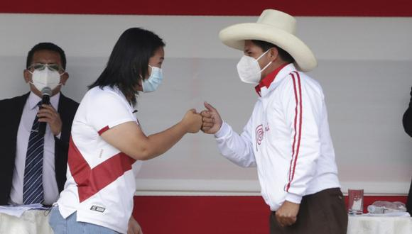 """El candidato presidencial de Perú Libre afirmó que """"hay que ser equitativos"""" y que en su caso debió pedir permiso en la región Chota. (Foto: El Comercio)"""
