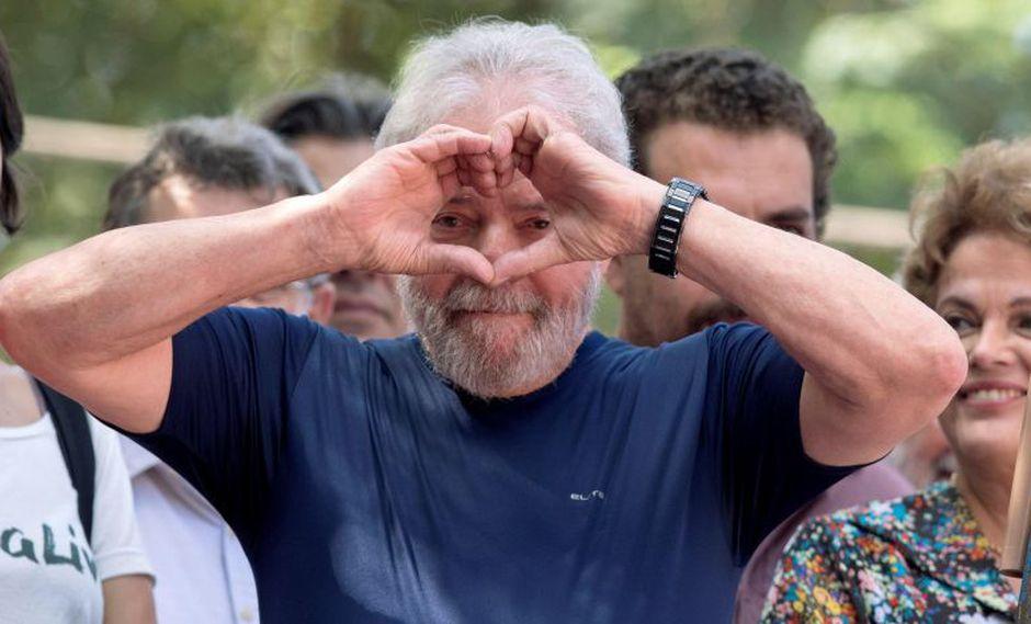 Lula da Silva fue condenado en primera y segunda instancia por corrupción pasiva y lavado de dinero. (Foto: AFP)