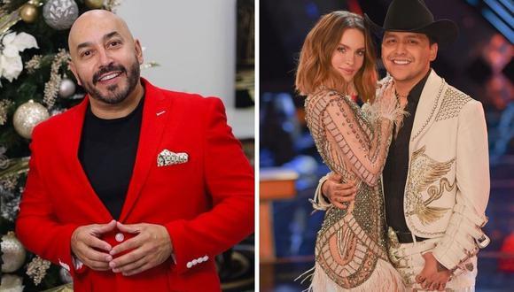 Lupillo Rivera se disculpó con Belinda por comentario machista en video y dijo que era contra Christian Nodal. (Foto: @belipop / @lupilloriveraofficial).
