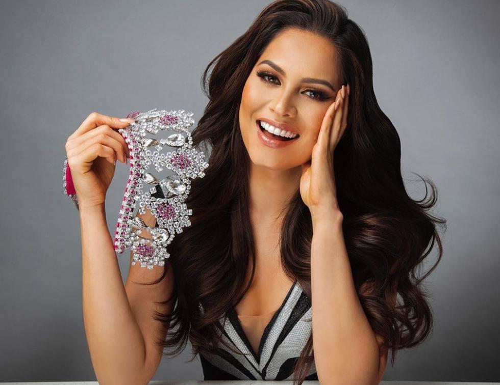 La mexicana Andrea Meza, proveniente del estado de Chihuahua y que es modelo e ingeniera de software de 26 años, fue coronada como Miss Universo 2020 por su predecesora, la sudafricana Zozibini Tunzi, Miss Universo 2019. (Foto: Instagram)