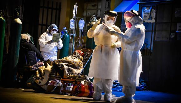Al menos 115 médicos se contagiaron del COVID-19 y otros siete han fallecido en Arequipa. (Foto: Diego Ramos Lupo)