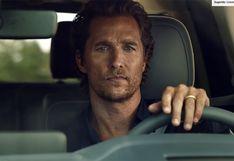Matthew McConaughey cumple 50 años: un repaso por sus campañas como imagen del lujoso Lincoln   VIDEOS