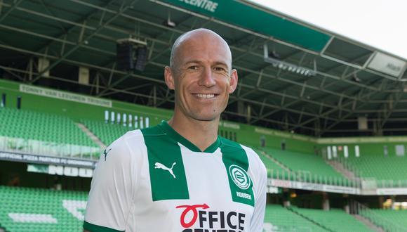 """Arjen Robben, sobre su vuelta al fútbol: """"Lo hago por amor al Groningen"""""""