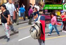 Centro de Lima: un año después, sigue venta ilegal de cachorros
