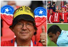 Chile vs. Australia: la colorida previa del partido en Moscú por Copa Confederaciones