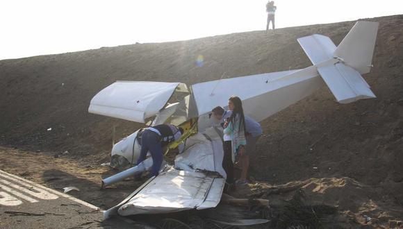 Santa María: aeroplano no tenía matrícula ni permiso de vuelo