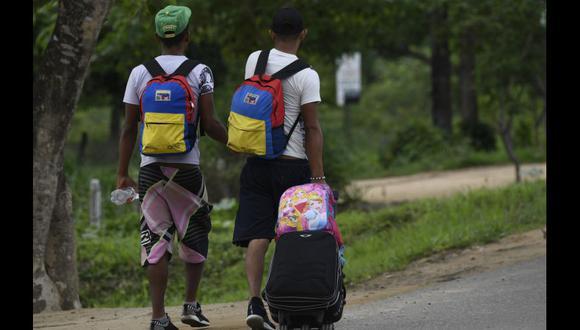 Más de 1,4 millones de venezolanos se encuentran actualmente en Colombia, que es el primer país receptor de los migrantes que huyen de la crisis económica. (AFP).