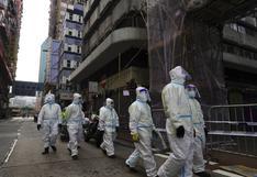 Hong Kong vive su primer confinamiento por coronavirus, en un barrio durante 48 horas