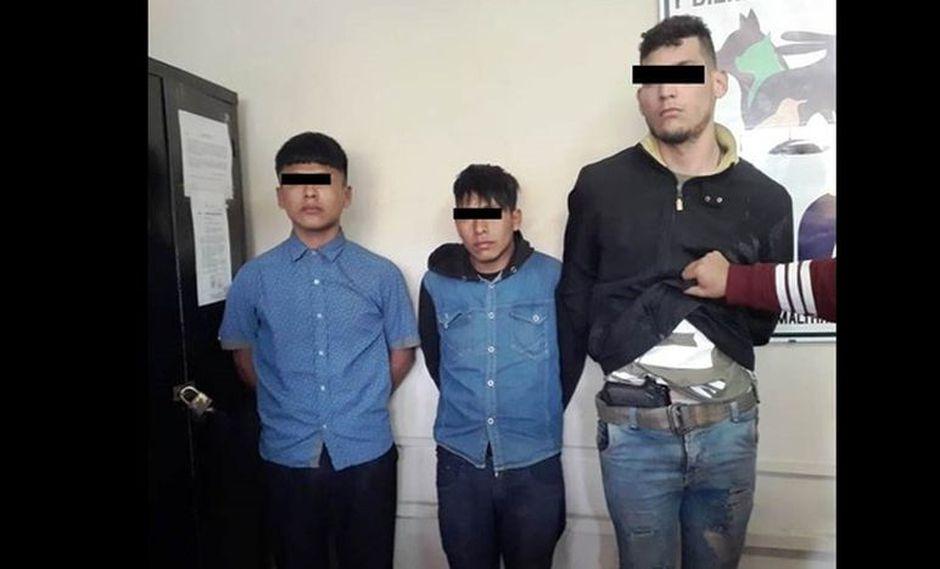 Los detenidos fueron llevados a la comisaría de Santa Anita, donde fueron reconocidos por la víctima. (Foto: Policía Nacional)